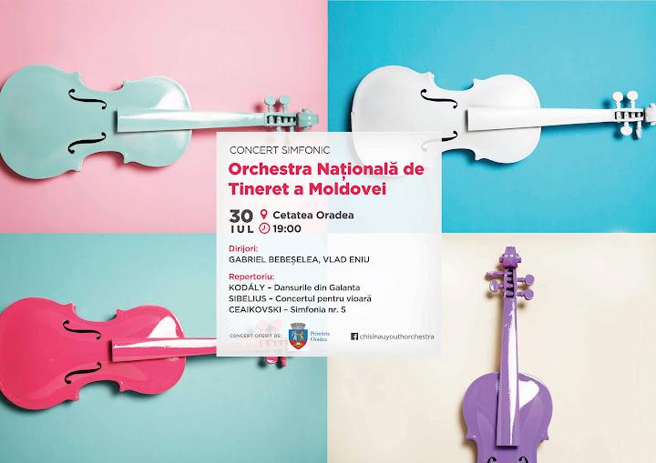 Concert simfonic în aer liber la cetatea #Oradea #1