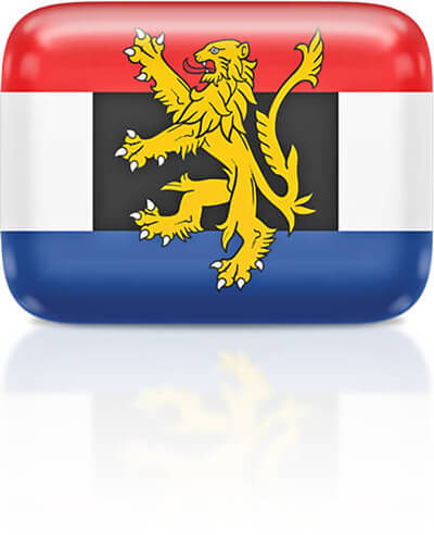 Benelux flag clipart rectangular