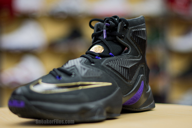 the latest 122a8 31004 ... A Possible Preview of the BHM Dunkman LeBron 13 in Black amp Gold ...