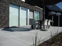 betonnen tegels 1m/1m