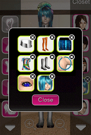 Click to Enlarge - Style Me Girl Level 14 - Galactic - Madison - Closet