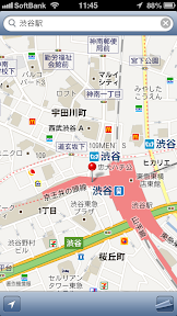 ClassicMap(復刻版マップ):Googleマップ