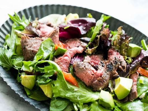 Tossed Winter Steak Salad