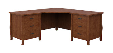 Cascade L-Shaped Desk
