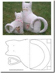 gato molde 55