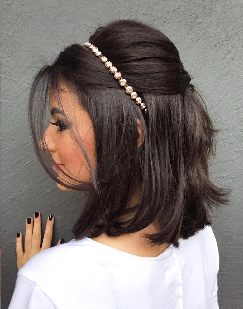 The trendy Wedding Hairstyles For And include hair color 2017 2