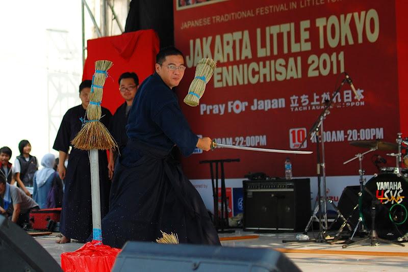 Demo katana samurai Ennichisai Blok M