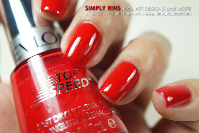 Revlon Top Speed Fire