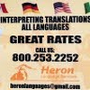 Heron Language Services Heron Language Services