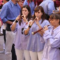 XII Trobada de Colles de lEix, Lleida 19-09-10 - 20100919_212_grallers_MdS_Colles_Eix_Actuacio.jpg