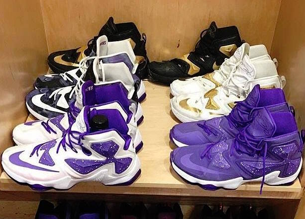 Ben Simmons Shows Off His Impressive LeBron 13 Collection ... fb2a543c33ab