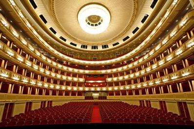 Vienna State Opera House Inside