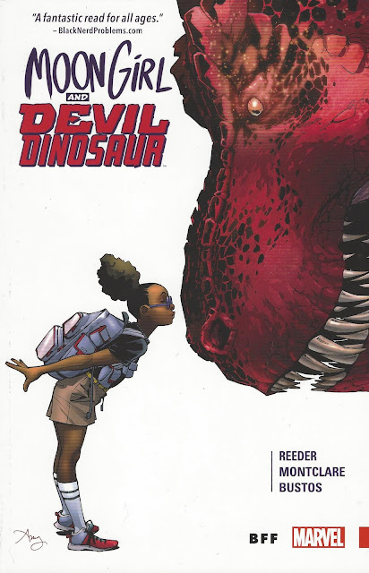 Moon Girl and Devil Dinosaur, v. 1: BFF cover