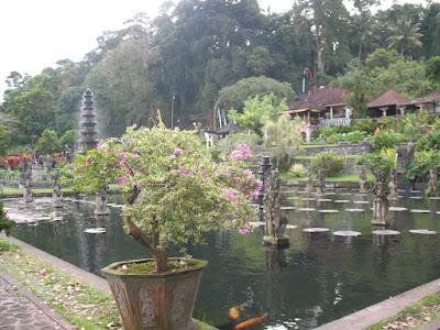 Le temple Tirta Gangga