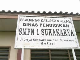 Dinas Pendidikan di daerah Sukakarya