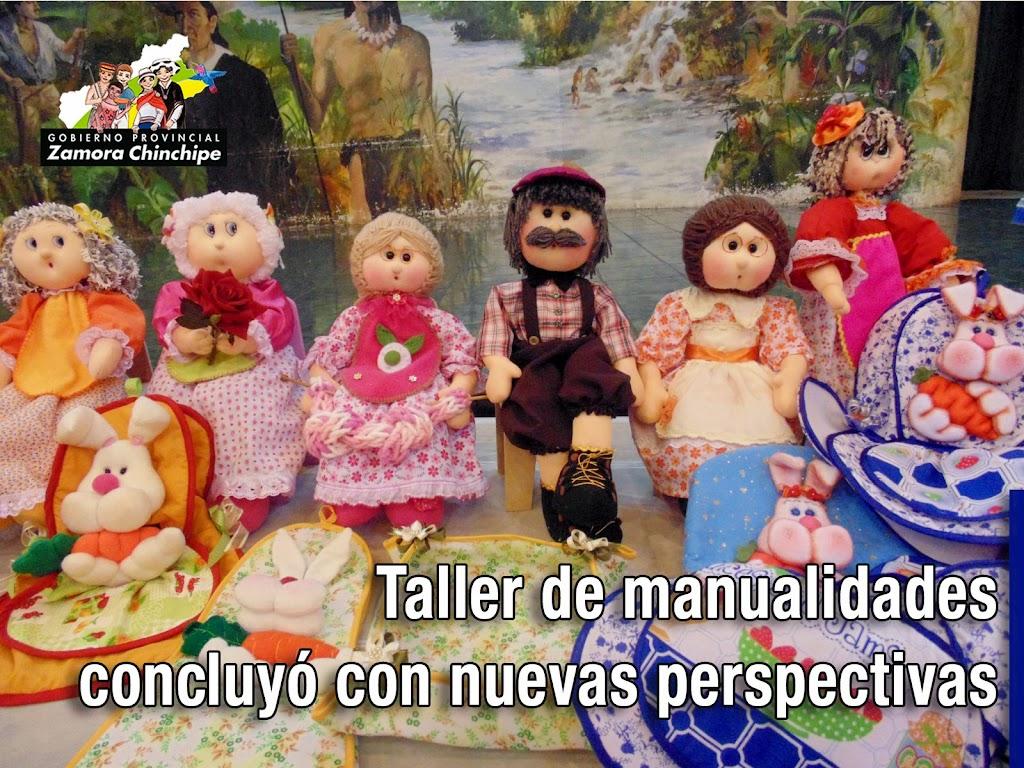 TALLER DE MANUALIDADES CONCLUYÓ CON NUEVAS PERSPECTIVAS