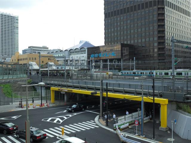 汐留ビルディングからみた浜松町駅