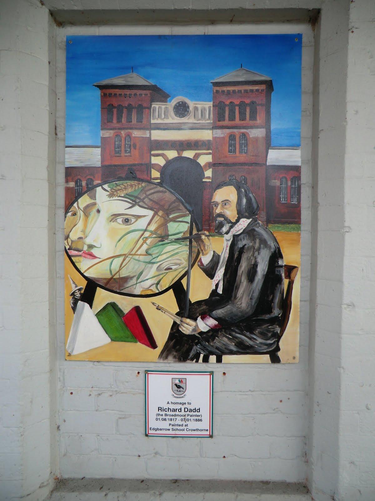 CIMG6333 Mural, Crowthorne Station