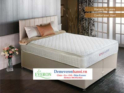 Đệm lò xo Comfort Spine Classic Everon 150 x 190