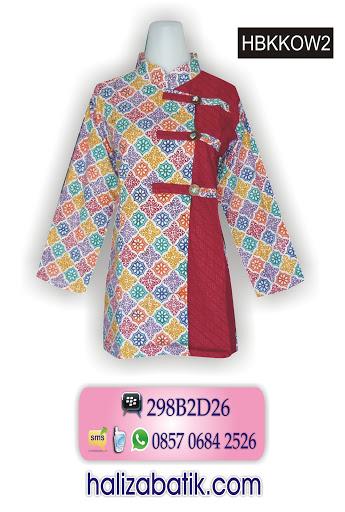 model baju batik atasan, busana batik, baju batik online