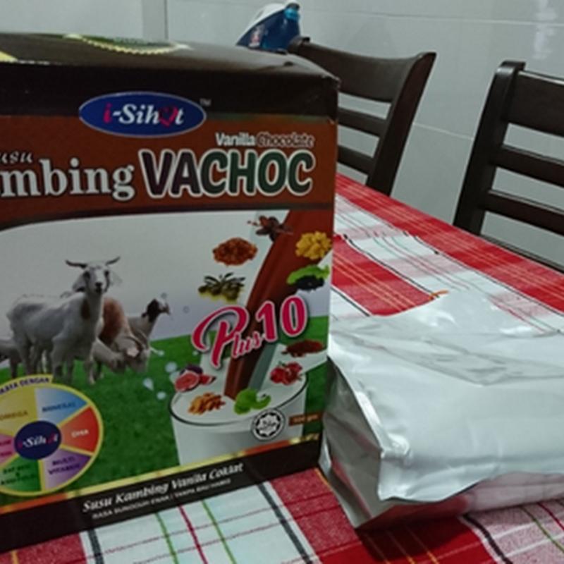 Susu Kambing I-Sihat : Terbaik untuk Zahra Nur Iman dan aku jugak !