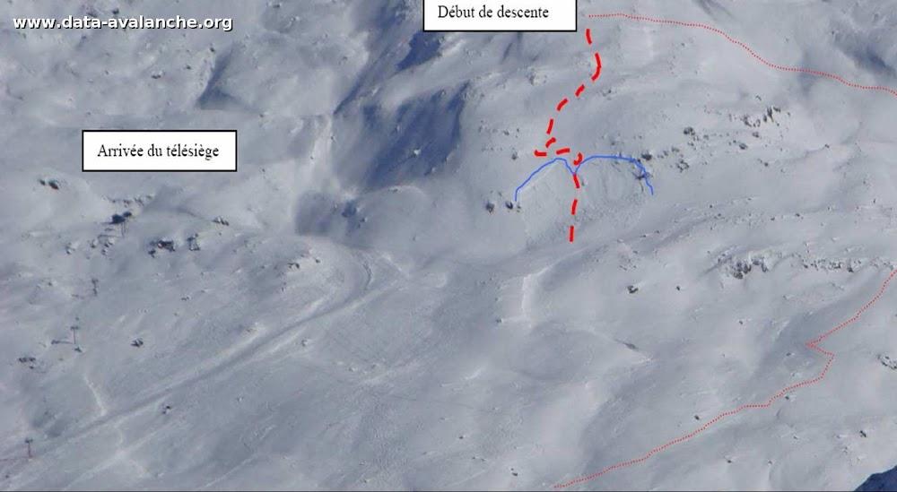Avalanche Maurienne, secteur Col des Marches - Photo 1