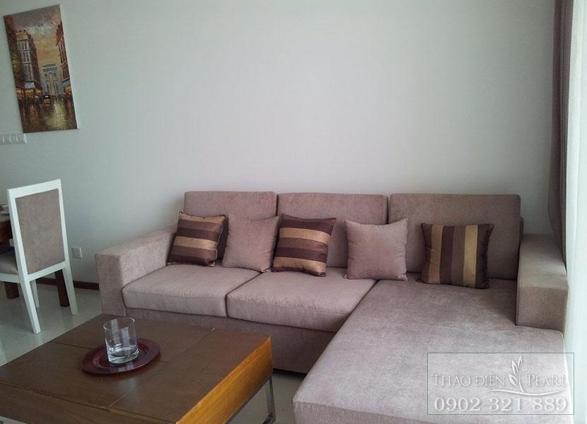 sofa cao cấp tại căn hộ thảo điền pearl cho thuê