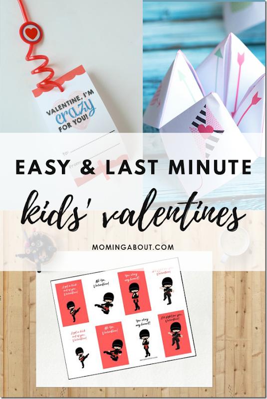 easy last minute valentines
