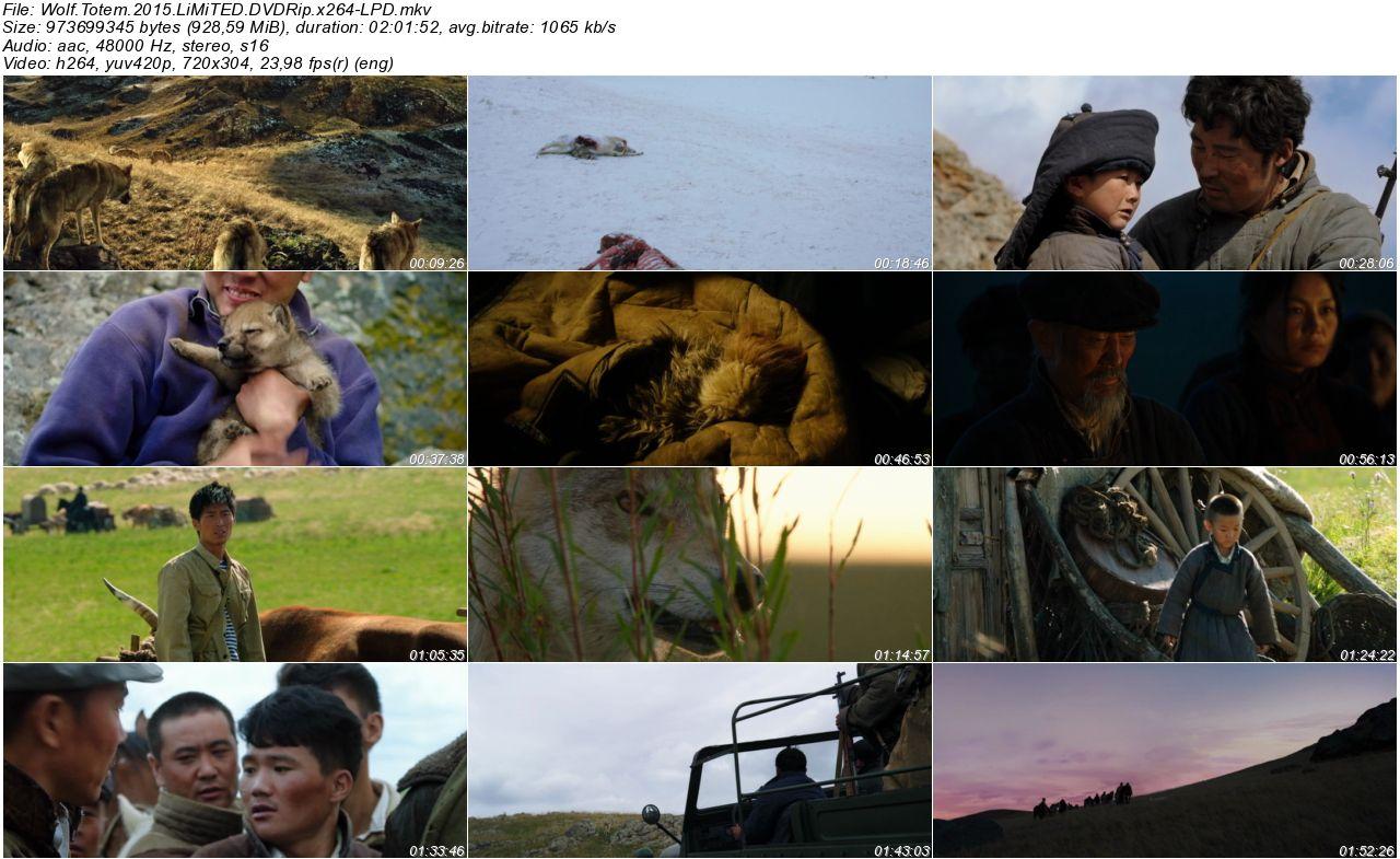 Wolf Totem - 2015 DVDRip x264 - Türkçe Altyazılı Tek Link indir