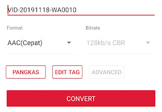 cara convert video ke mp3 di android