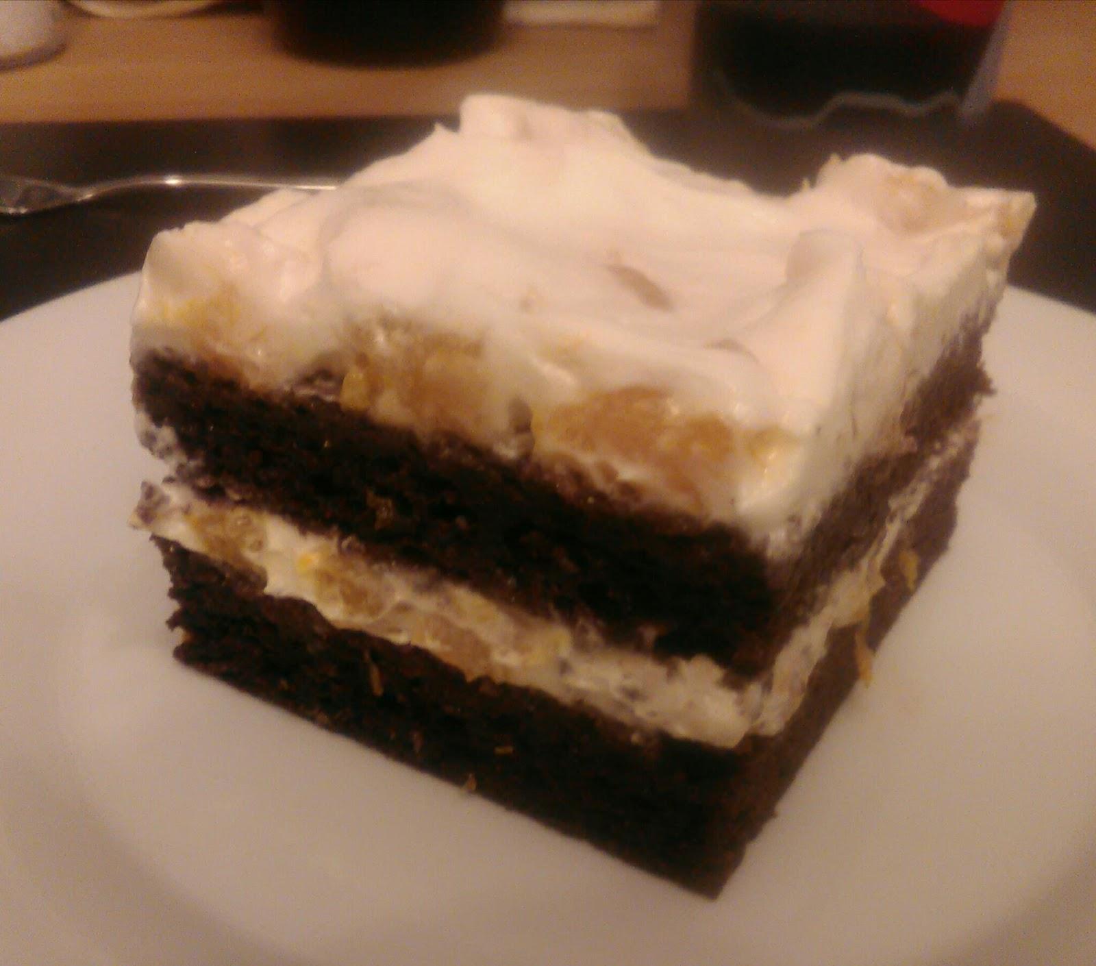 No Fuzz Vegan Mandarinen Lebkuchen Torte