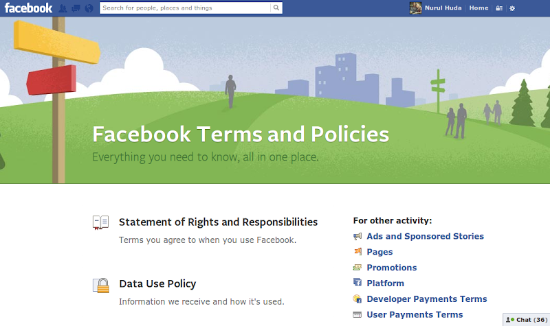 Facebook Term And Policy