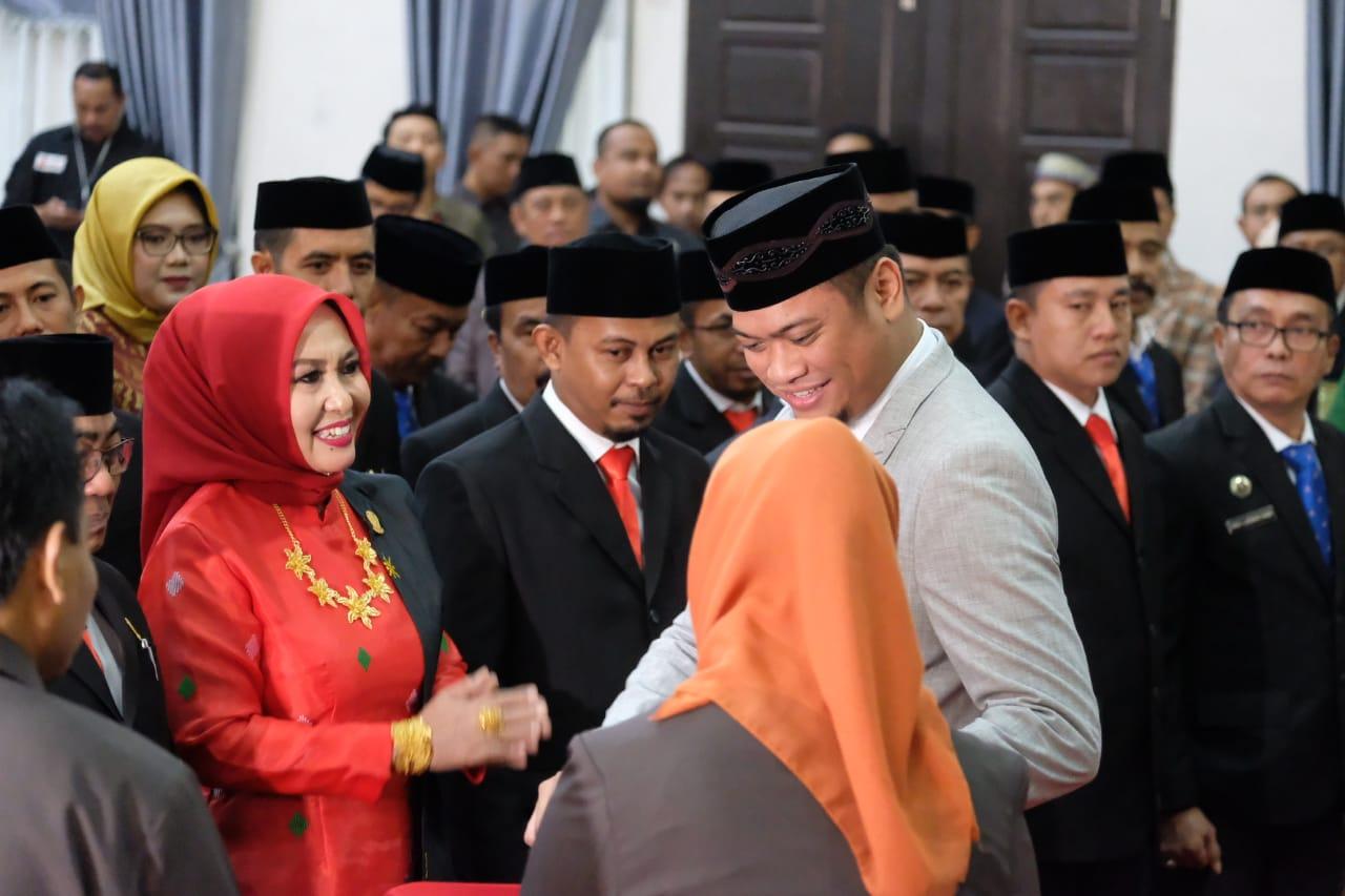 Ini Harapan Adnan Saat Menghadiri Pelantikan Anggota DPRD Gowa Periode 2019 - 2024
