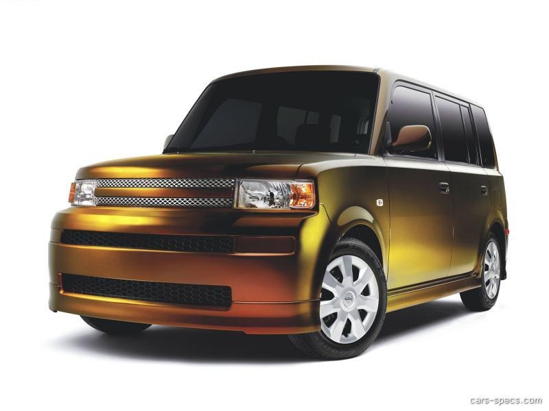 2005 scion xb wagon specifications pictures prices. Black Bedroom Furniture Sets. Home Design Ideas