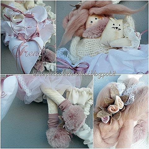 Bambola su cuori