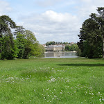 Tapis vert, grand Canal et château de Rambouillet