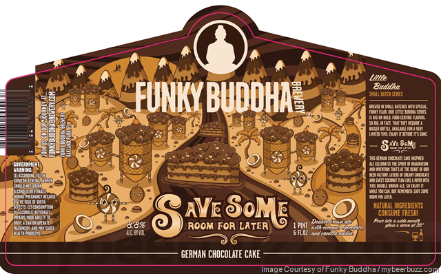 Funky Buddha Save Some Room For Later Returning In New Bottles