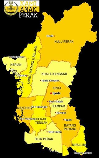 Daerah-daerah di negeri Perak