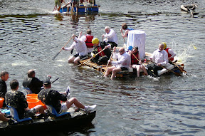 Chester Charity Raft Race
