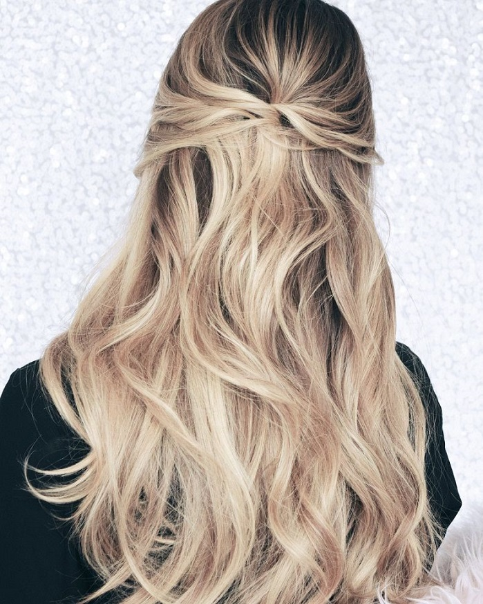 Half Up Half Down Hairstyles For Woman In 2018 5