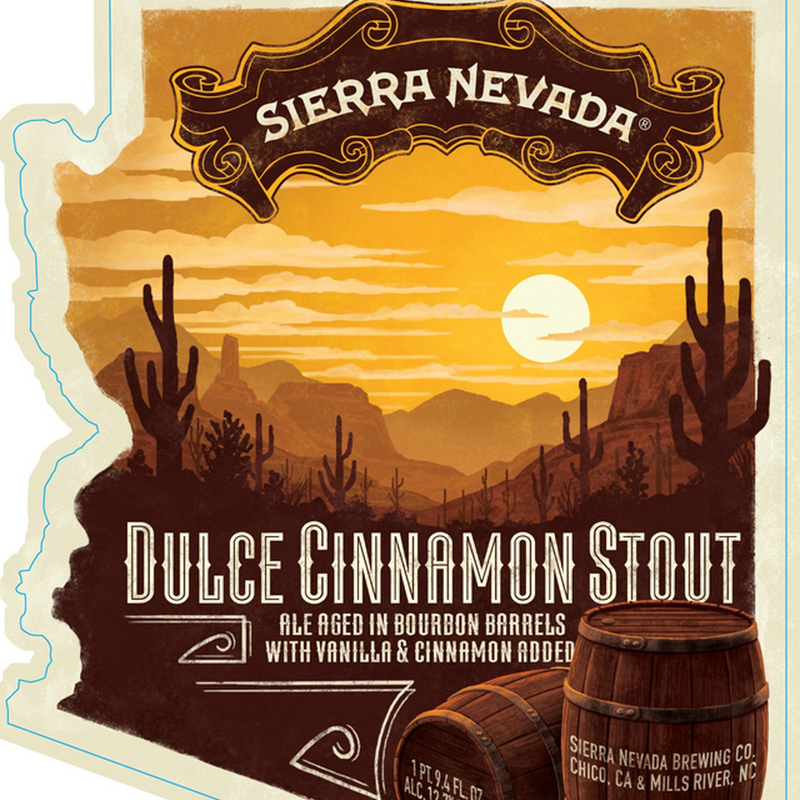 Sierra Nevada Adding NEW Dulce Cinnamon Stout Bottles In Dec