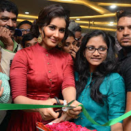 Bahar Cafe Launch By Rashi Khanna At LB Nagar Pics