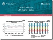 Finanza pubblica. Marzo 2017