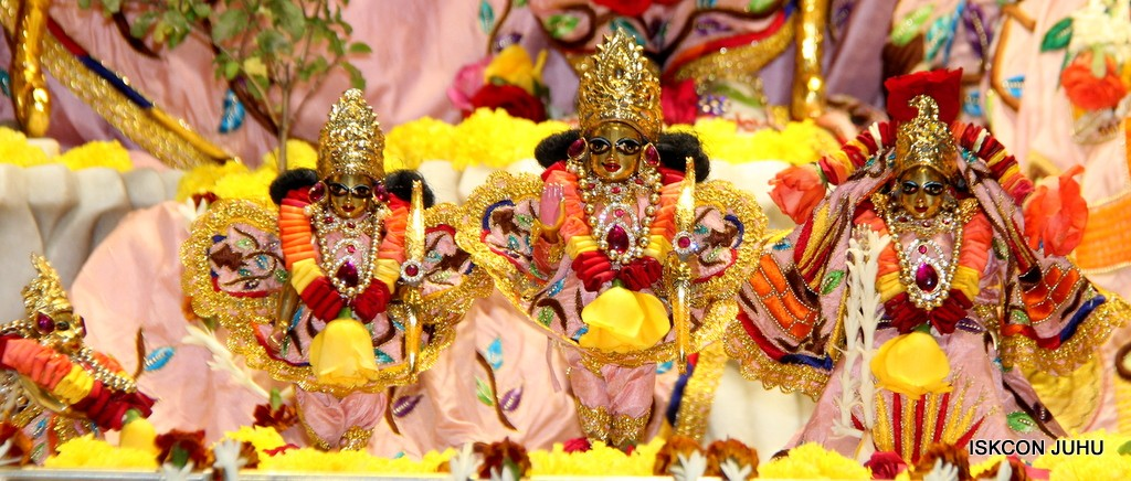 ISKCON Juhu Sringar Deity Darshan 10 Jan 2017 (56)