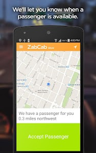 ZabCab Driver - For Taxi Cabs screenshot 1