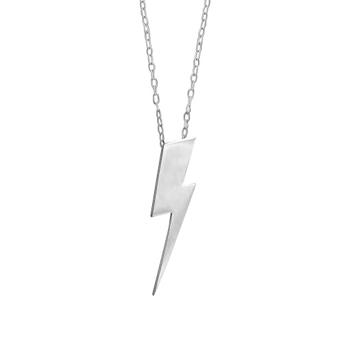 Irish Jewelry, Pointed Lightning Bolt Pendant
