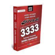 Kariyer Meslek Yayınları 2020 KPSS Genel Yetenek Genel Kültür Süvari 3333 Çözümlü Soru Bankası