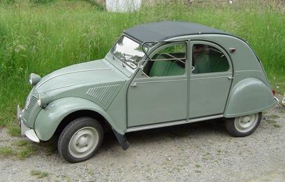 Citroën 1960 2 CV AZLP vert embrun