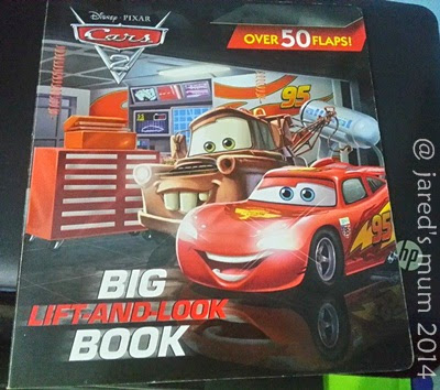 lightning mcqueen, cars, books, my favorite things