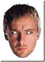 El doctor Who Máscara El Maestro sin afeitar